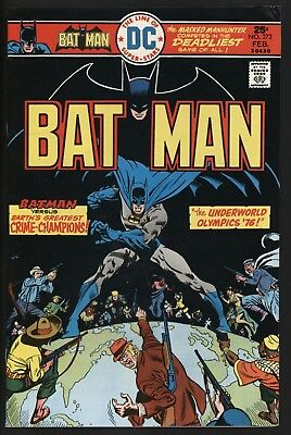 Batman #272 Underworld Olympics Begin! Original Owner Glossy Cents White Pages