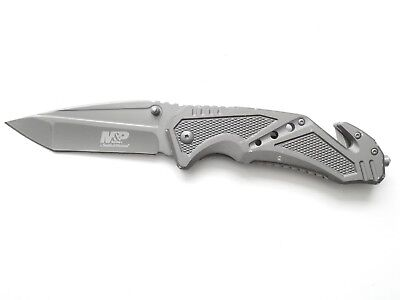 Smith & Wesson M&P SWMP11G Tanto Tactical Folding Knife - Ships in 12 hours!!!