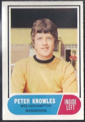 A&Bc-Football 1969 Green Back Facts-#062- Wolves - Peter Knowles