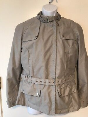 Truimph Motorcycles Men's Size Large Gray Removable Liner Jacket