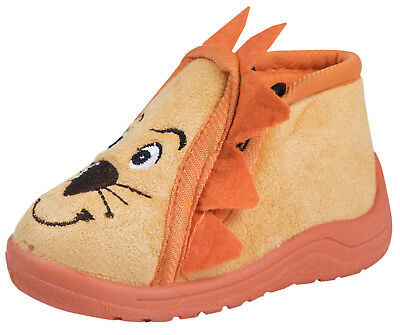 Toddlers Lion Slippers Cute Boys Girls Booties Indoor Character Shoes Kids Size