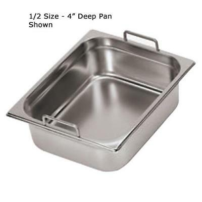 World Cuisine - 14115-10 - Half Size 4 in Deep Steam Table Pan