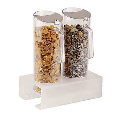 World Cuisine - 41918-02 - 2 Cereal Jugs w/Tall Holder