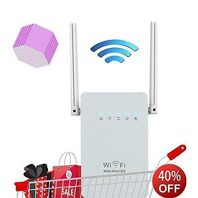 Wifi Range Extender 300Mbps Wireless Router Long Signal Booster Repeater Antenna