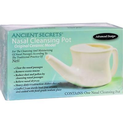 ANCIENT SECRETS Nasal Cleansing Pot CT