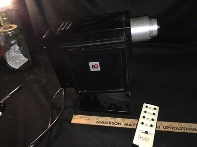 Vintage,AO,American Optical,model 11800,Project-o-Chart,Projector,with Remote,nr