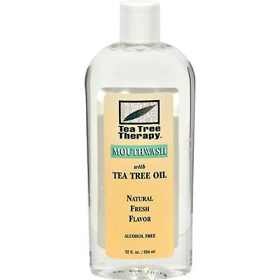 TEA TREE THERAPY Alcohol Free Mouthwash; With Tea Tree Oil 12 FZ