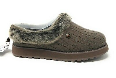 3a8f5648bf77 SKECHERS BOBS WOMENS Keepsakes Ice Angel Slipper Shoe Taupe Size 6 M ...