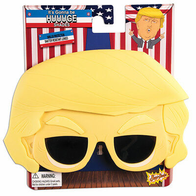 Adult Trump Huuuge Sun Staches - President Donald Trump  fnt