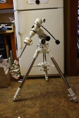 BRESSER Telescope Exos-1 German Equatorial CG-4 Heavy Duty Mount with Tripod