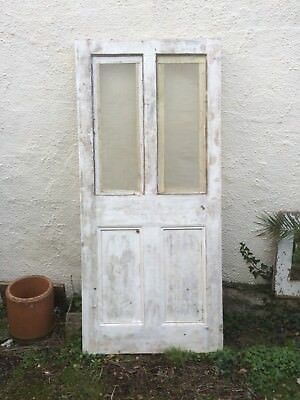 Salvaged old Wooden Door 82x181cms