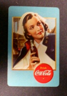 VINTAGE COCA COLA AIRPLANE SPOTTER PLAYING CARDS-complete deck-1940's