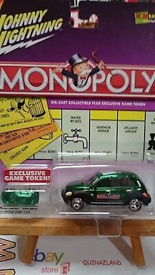 9971 Johnny Lightning Monopoly Willys KB Toys Exclusive plus pion
