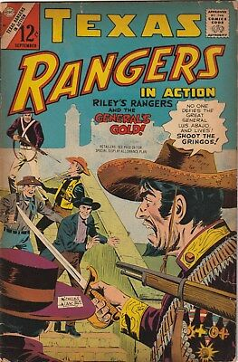 Texas Rangers In Action Number 62. Charlton Comics 1967. 12 Cent Issue. Western
