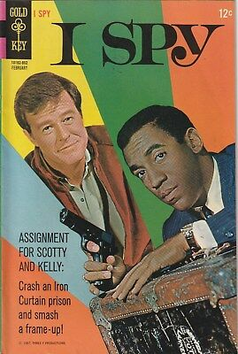 I Spy Number 4. Gold Key Comics 1968. 12 Cent Issue. Tv Related