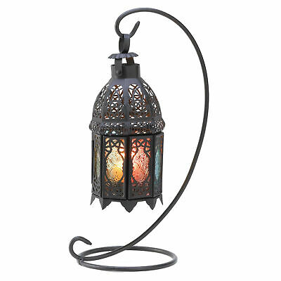 Gallery of Light - Rainbow Moroccan Lantern Stand