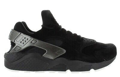 Men s Nike Air Huarache Run Premium 704830 014 Black Sail Deadstock Brand  New c5a2346ef