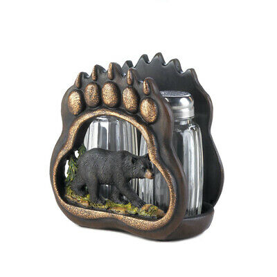 Accent Plus - Bear Paw Salt And Pepper Holder