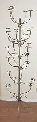Brass hat stand - holds 24 hats circa 1940's.
