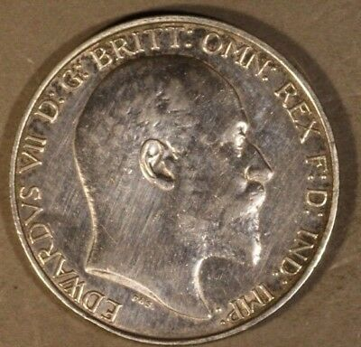 1903 Great Britain Florin Higher Grade Lightly Wiped    ** FREE U.S. SHIPPING **