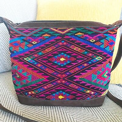 TheCatbirdsKitten Huipil Crossbody Bag EUC *Beautiful Vibrant* *Like Nena*