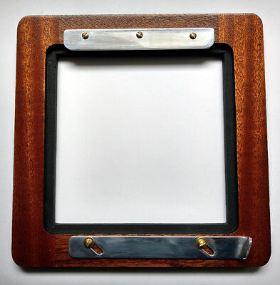 """1 ADAPTER 6x6""""RC for 4.5x4.5""""RC boards to DEARDORFF 8x10"""" of Solid Wood&Aluminum"""