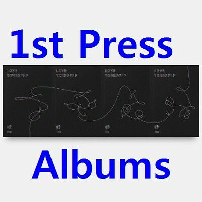 BTS[Love Yourself 轉'Tear']3rd Album 4 SET CD+Poster+etc+PreOrder+Gift+Tracking