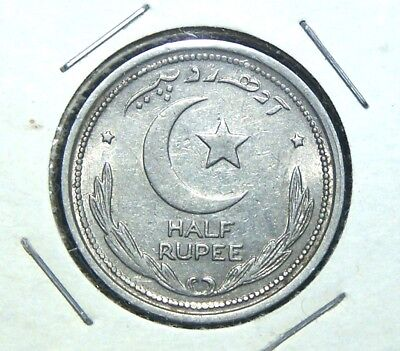 Pakistan - 1949 - 1/2 Anna, 2 Annas, 1/4 Rupee and 1/2 Rupee - 4 Great Coins!