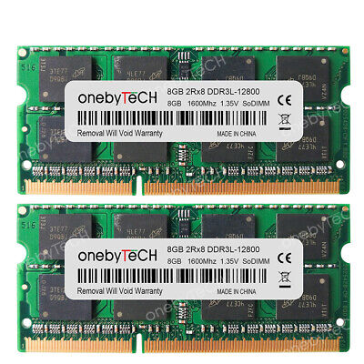 16GB 2x8GB DDR3L SDRAM 1600 MHz SO-DIMM 204-pin Memory For Dell Inspiron 7559