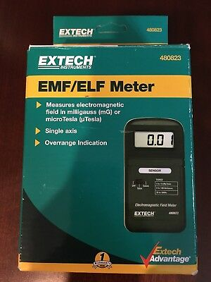 EXTECH EMF/ELF Meter Model 480823 Used Once With Manual