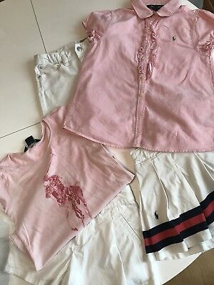 Ralph Lauren Girls clothing bundle age 6