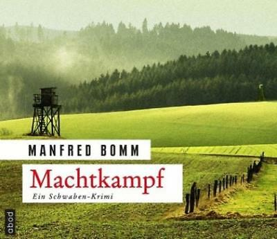 Bomm, Manfred: Machtkampf, Audio-CD