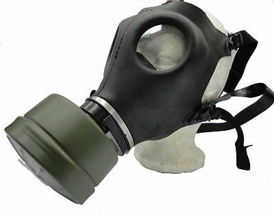 NEW! Premium Gas Mask w/Genuine Military Sealed NATO Filter Full NBC Protection!