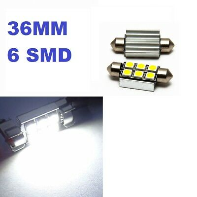 Error Free C5W 36mm Bulbs 6 SMD LED Car Lights Canbus Festoon Interior Sidelight