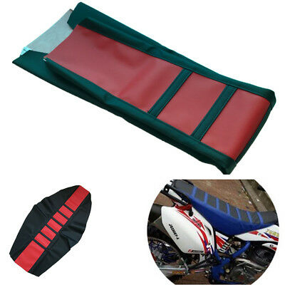 Red Universal Leather Seat Cover Wrap Soft Seating Pad Red For Motorcycle ATV