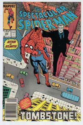 US Comics, The Spectacular Spider-Man, # 142, Sept 1988