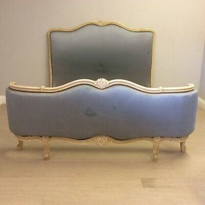 Antique French bow foot double bed      Ref a9279