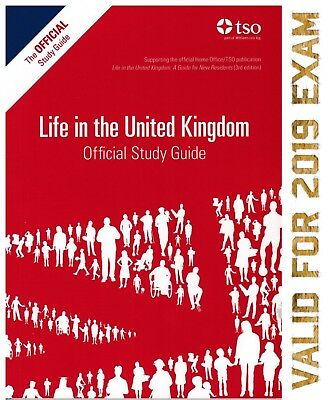 Life in the UK Citizenship Test The Official Study Guide 2018 Book - STD