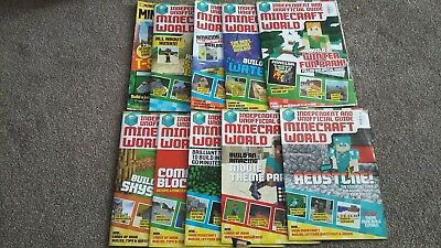Big Bundle Of Minecraft Game Magazines 10 Issues