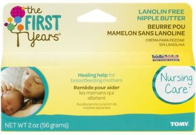 The First Years Lanolin-Free Nipple Butter 2 oz (Pack of 9)