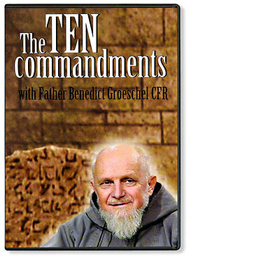 THE TEN COMMANDMENTS W/ Fr. Benedict Groeschel  DVD