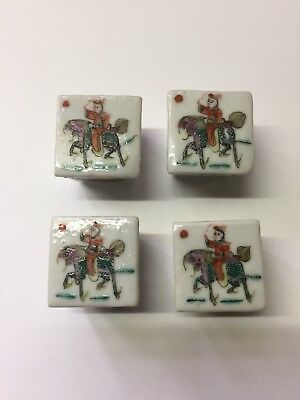 Antique Chinese Porcelain Salt Cellars