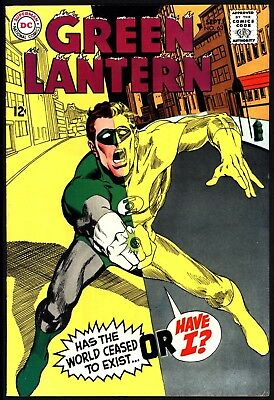 Green Lantern #63 Great Cover! Tight Glossy Cents Copy With White Pages 1968
