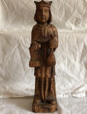 Hand Carved Wooden Figure Of A Man