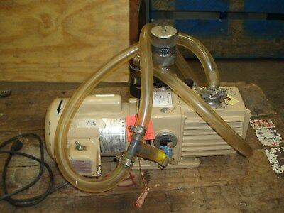Fisher Scientific Dual Stage Rotary Vane Vacuum Pump, Model# D4A (Pick Up Only)