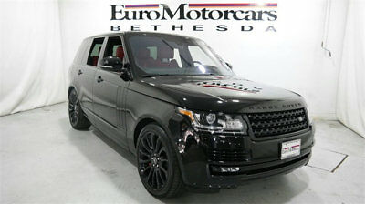 Land Rover Range Rover 4WD 4dr Autobiography land rover range 4wd awd autobiography suv supercharge sc v8 16 used black red