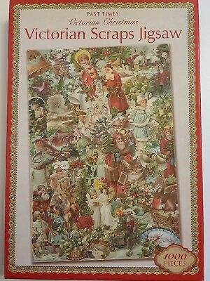 Laura ashley vintage world map 1000 piece jigsaw puzzle 699 past times victorian scraps christmas 1000 piece jigsaw puzzle new sealed gumiabroncs Gallery