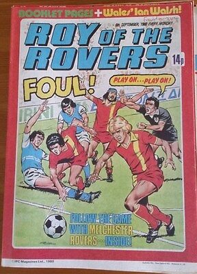 Roy of the Rovers 06th September 1980