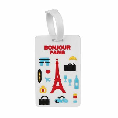 Travel Luggage Tag London Street Baggage Travelling Suitcase Labels Name Address