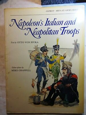 Osprey Men at Arms Napoleons Italian and Neapolitan Troops Sammlungsauflösung
